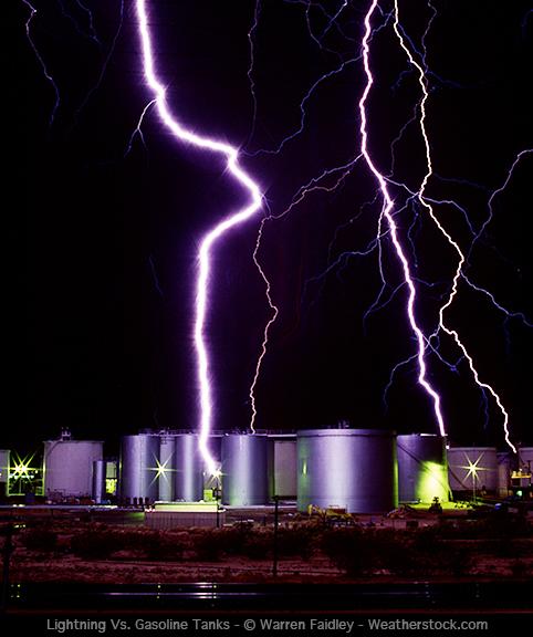 Storm Chaser - Storm chaser gets struck lightning films