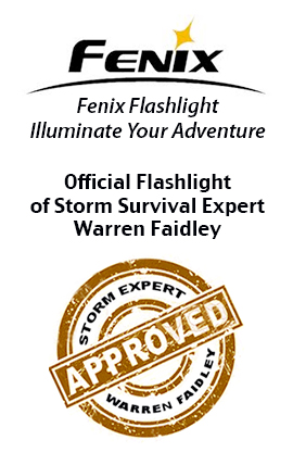 warren faidley chaser flashlights