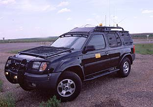 TIV storm chase truck